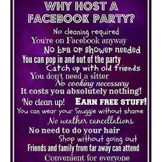Host a virtual AVON party!