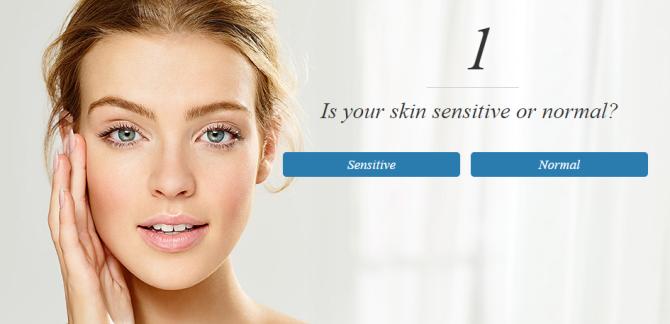 Step 1 skin care quiz