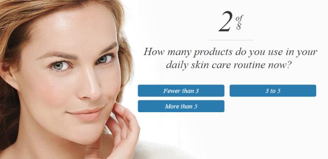 step 2 skin care quiz