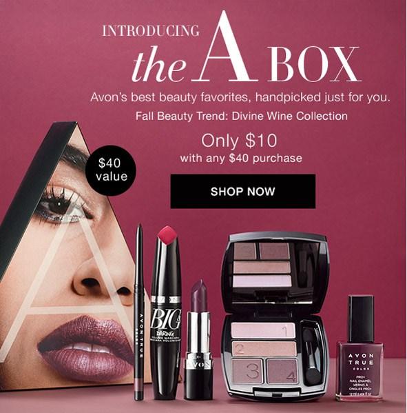 """The AVON """"A"""" BOX"""